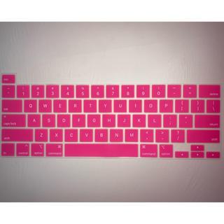 マック(Mac (Apple))のMacBook Pro 16インチ キーボードカバー ピンク(PC周辺機器)