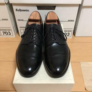 Hender Scheme - 値下げ Forme フォルメ blucher plain toe  6.5  黒