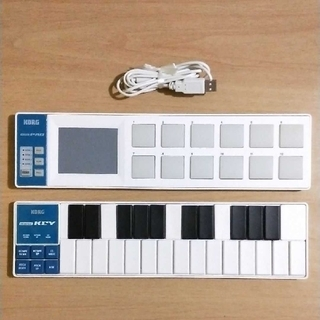 コルグ(KORG)の値下 送料込 KORG nanoKEY nanoPAD nano KEY PAD(MIDIコントローラー)