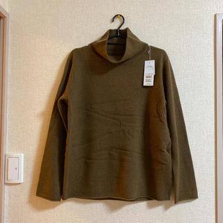 新品 バジーレ28 上質カシミヤ100% ハイネックセーター