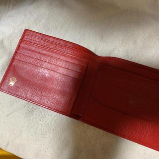 ロレックス(ROLEX)のROLEX 販促品 二つ折り財布(財布)