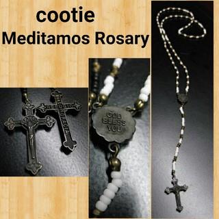 クーティー(COOTIE)の定価20680円 cootie Rosary ロザリオ ネックレス kj着用(ネックレス)
