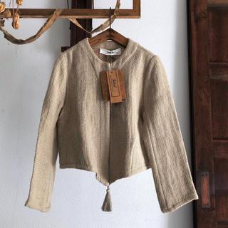 ネストローブ(nest Robe)のtabrik タブリク タッセル ジャケット/ショートコート(ノーカラージャケット)