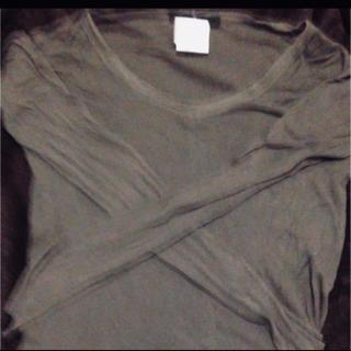 ユリウス(JULIUS)のユリウスカットソーコットンカシミアリブjulius長袖(Tシャツ/カットソー(七分/長袖))