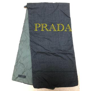 プラダ(PRADA)のプラダ  ナイロンマフラー(マフラー)