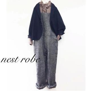 ネストローブ(nest Robe)のnest robe ネストローブ リネンウールオーバーオール サロペット(サロペット/オーバーオール)