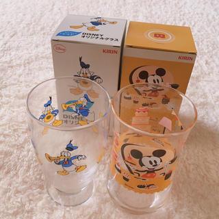 ディズニー(Disney)の午後の紅茶 ミッキー ドナルド グラス 2点セット (グラス/カップ)