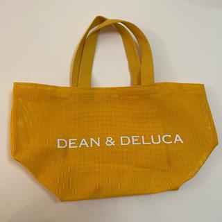 ディーンアンドデルーカ(DEAN & DELUCA)のDEAN&DELUCA トートバッグS メッシュ黄(エコバッグ)