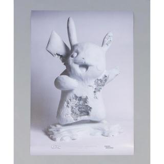 メディコムトイ(MEDICOM TOY)のポスター ピカチュウ DANIEL ARSHAM × POKÉMON × 2G(ポスター)