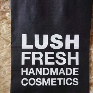 ラッシュ(LUSH)のLUSH FRESH ショッパー BK (ショップ袋)