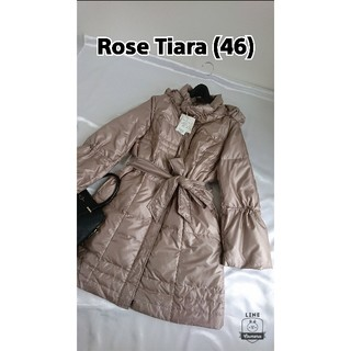 Rose Tiara - タグ付き♪ 46 ローズティアラ  ダウンコート
