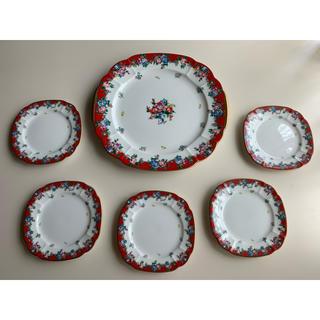 ケンゾー(KENZO)のKENZO ケンゾー お皿 皿 プレート 大皿 花柄 食器 レトロ 陶器 陶製(食器)