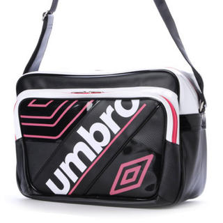 UMBRO - umbroエナメルバッグ★ピンクUJS1614
