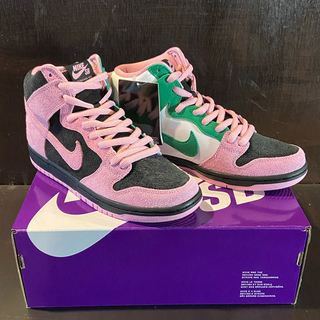 ナイキ(NIKE)のNIKE DUNK SB HIGH INVERT CELTICS 26.5cm(スニーカー)