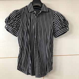 ラルフローレン(Ralph Lauren)のラルフローレン  11 ブラウス ストライプ(シャツ/ブラウス(半袖/袖なし))