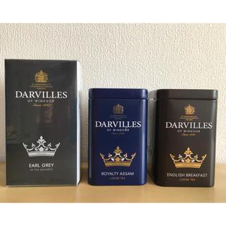 MINTON - イギリスDarvillesofWindsorダーヴィルス紅茶3種セット