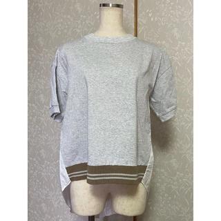 ルカ(LUCA)の《LUCA/LADY LUCK LUCA》バックシャツニット (f248)(Tシャツ(半袖/袖なし))