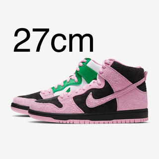 ナイキ(NIKE)のNIKE SB DUNK HIGH INVERT CELTICS(スニーカー)
