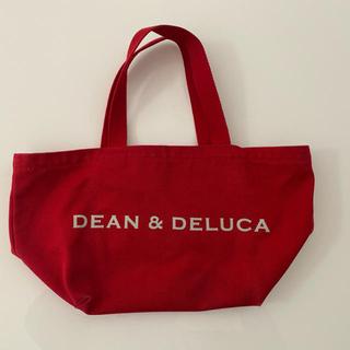 ディーンアンドデルーカ(DEAN & DELUCA)のDEAN&DELUCA  トートバッグS  赤(エコバッグ)