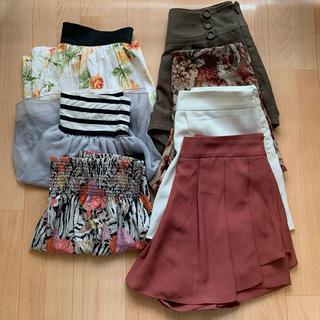 ダズリン(dazzlin)のまとめ売り★スカート&ショートパンツ&キュロット(ミニスカート)