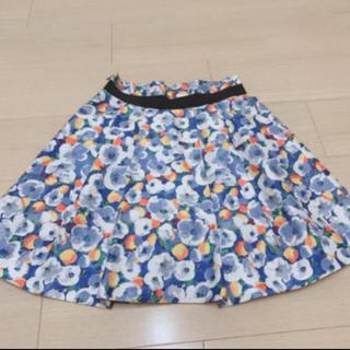 フレイアイディー(FRAY I.D)の☆送料込☆FRAY ID 花柄スカート(ミニスカート)