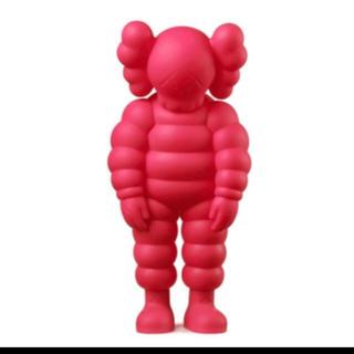 メディコムトイ(MEDICOM TOY)のkaws what party カウズ ピンク pink(その他)