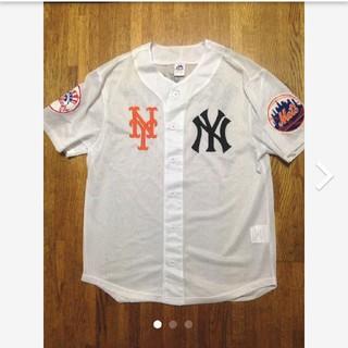 シュプリーム(Supreme)の激レア★New York ヤンキース×METSユニフォーム(Tシャツ/カットソー(半袖/袖なし))
