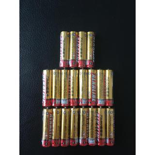ミツビシデンキ(三菱電機)の三菱電機 アルカリ電池 単4  20本(防災関連グッズ)