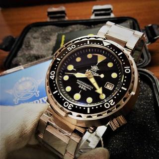 セイコー(SEIKO)のSEIKO製 自動巻NH35搭載 ツナ缶  オマージュ  MM300(腕時計(アナログ))