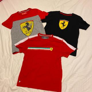 フェラーリ(Ferrari)のフェラーリTシャツ3枚★サイズ130センチ★Ferrari(Tシャツ/カットソー)
