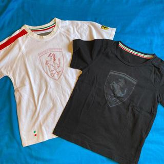 フェラーリ(Ferrari)のFerrariのTシャツ2枚★120センチ(Tシャツ/カットソー)