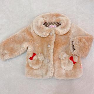 シャーリーテンプル(Shirley Temple)のシャーリーテンプル くま コート アウター 80-90(ジャケット/上着)