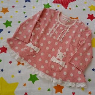 クーラクール(coeur a coeur)のkurukuru様専用 クーラクール 長袖Tシャツ 80cm 濃いピンク レッド(シャツ/カットソー)
