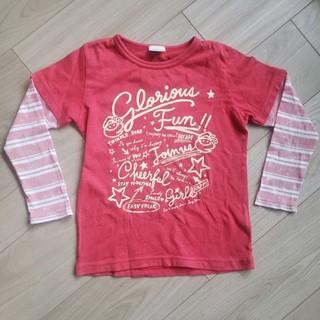 ベベ(BeBe)の重ね着風Tシャツ 120(Tシャツ/カットソー)