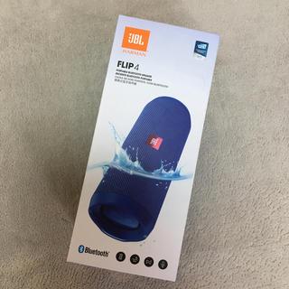 フリップ(Flip)の新品未使用 ★ JBL FLIP4 BLUE Bluetoothスピーカー(スピーカー)