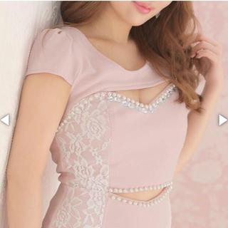 デイジーストア(dazzy store)のdazzy新品タグ付き   キャバ嬢  ミニワンピ ドレス(ナイトドレス)