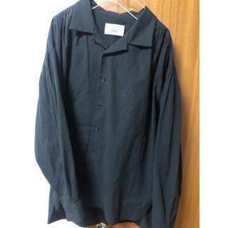 トーガ(TOGA)の《値下げ中》開襟シャツ 黒シャツ(シャツ)