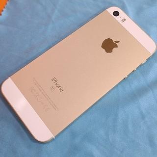 アイフォーン(iPhone)のApple iPhoneSE 第一世代 64GB ゴールド simフリー 美品(スマートフォン本体)