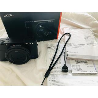 ソニー(SONY)のsony RX100v サイバーショット 5年保証付 色加工等無し(コンパクトデジタルカメラ)