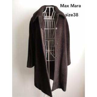 マックスマーラ(Max Mara)の美品 Max Mara エレガントアルパカコート(ガウンコート)