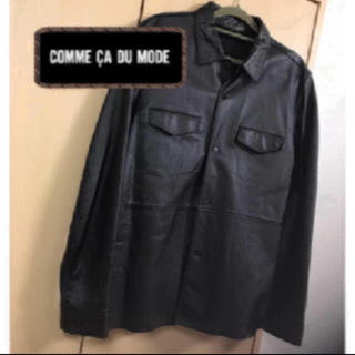 コムデギャルソン(COMME des GARCONS)のコムサデモード レザー ジャケット(レザージャケット)