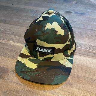 エクストララージ(XLARGE)のXLARGE KIDS 迷彩キャップⓂ️サイズ(帽子)