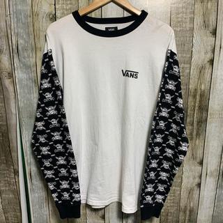 ヴァンズ(VANS)のvansバンズ ロンT  スカル ドクロ(Tシャツ/カットソー(七分/長袖))