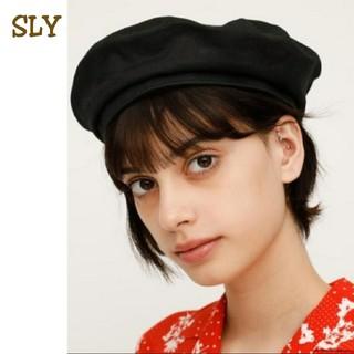 スライ(SLY)のSLY ベレー帽 帽子(ハンチング/ベレー帽)