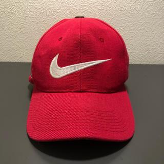 ナイキ(NIKE)の'90s 白タグ NIKE BIG SWOOSH cap(キャップ)