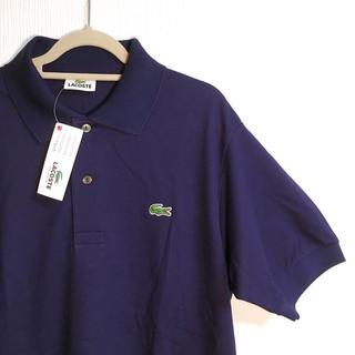 ラコステ(LACOSTE)の新品未使用 LACOSTE L1212 ポロシャツ M  ネイビー  size3(ポロシャツ)