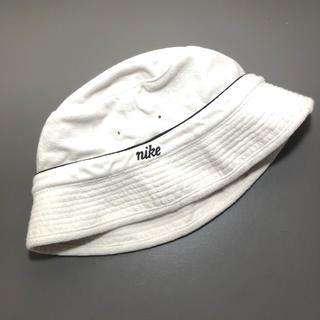 ナイキ(NIKE)の'90s 〜'00s NIKE バケットハット off white 激レア(キャップ)