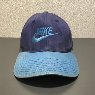 ナイキ(NIKE)の'80〜'90s レア NIKE 白タグ cap バイカラー(キャップ)