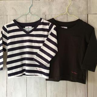 アーバンリサーチ(URBAN RESEARCH)の男の子女の子長袖ロンT2枚セット アーバンリサーチ キッズ90〜100cm(Tシャツ/カットソー)