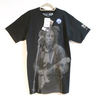 ビラボン(billabong)の新品未使用 BILLABONG ボブマーリー Tシャツ 黒 S (Tシャツ/カットソー(半袖/袖なし))